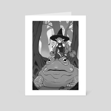 Frog Witch - Art Card by Bridget Wilson