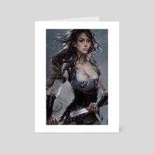 Pan - Alternative - Art Card by Camila Vielmond