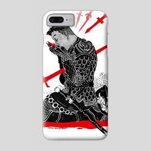 Fall On Your Sword - Phone Case by Ashley McCammon