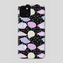 All The Shells - Phone Case by Min Morris