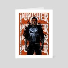 The Punisher - Art Card by Ephrem Rokk
