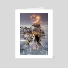 Winter Solstice - Art Card by Jessica Dueck