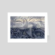Ice Crystals II - Art Card by Carolynn Elwell
