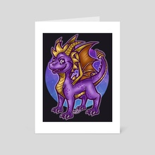 Dragon - Art Card by Masha K
