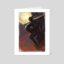 Batman - Art Card by Franco Rivolli