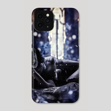Fire it up blue v - Phone Case by Jessica Dueck
