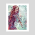 Winter heart - Art Print by Marta Nael
