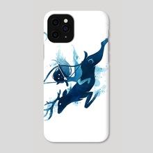 Elf Archer - Phone Case by Indré Bankauskaité