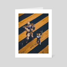 Vegeta and Nappa - Art Card by Obnubilant  ラヤン