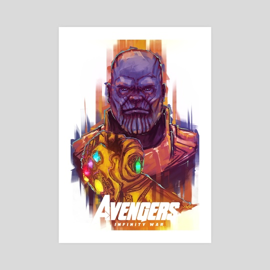 The Mad Titan by Nihat Gokcen