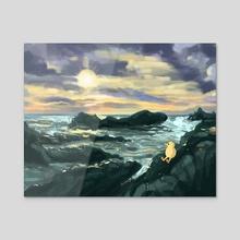 I'll See the Ocean Again - Acrylic by Lindsey Leigh