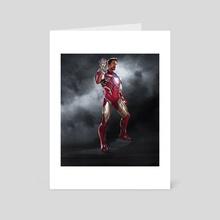 I am Ironman - Art Card by Azmat Munshi