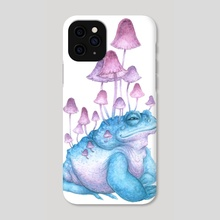 Toad-shroom - Phone Case by Tiffany England