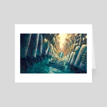 Factory of a Forgotten Age - Art Card by Alex Campbell