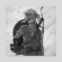 Inktober - Breath of the Wild - Canvas by Breana Melvin