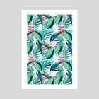 Tropical Eye Candy - Art Print by 83 Oranges