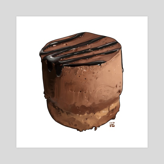 Chocolate Mousse cake by Itadaki_Yasu