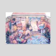 Backyard - Canvas by Caomor