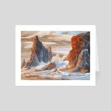 Coastlight - Art Card by Evan S Johnsen