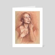 Lillias I - Art Card by Dave Kobrenski