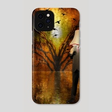 Lamp man - Phone Case by Bruce Rolff