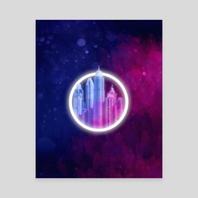 Utopia - Canvas by Drew Long