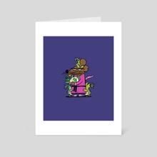 Dad - Art Card by Joey Ellis
