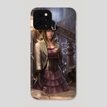 Black Penny - Phone Case by Josh Burns