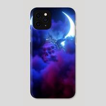 Lunar Prism I - Phone Case by sick 666 mick