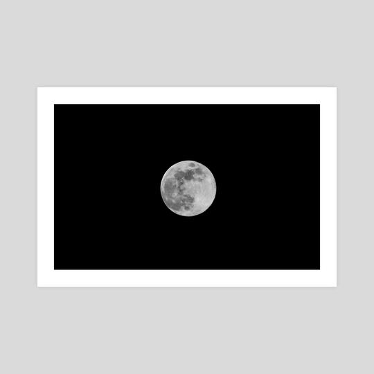 Full Moon by Megan Gill