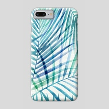 Tropical Palm Print - Phone Case by Modern Tropical