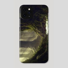 The Sleeping Green - The Sleeping - Phone Case by Julian Bauer