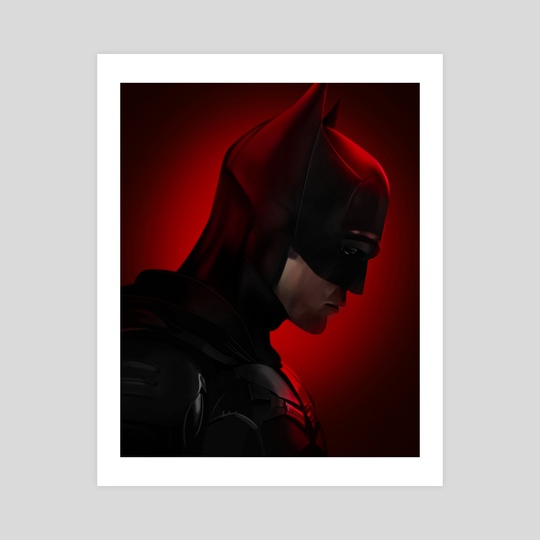 The Batman (Portrait) by Mizuri