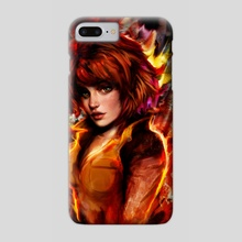 april oneil - Phone Case by Maxim G