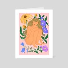 Bloom - Art Card by Emmi-Riikka