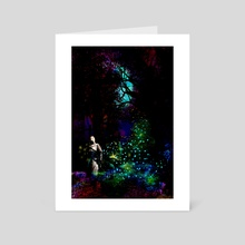 The Light in The Dark  - Art Card by Valentina Ioannou