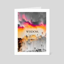Wisdom - Art Card by 1X NewArt