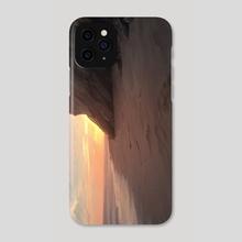 Shore Sunrise - Phone Case by Allison Chin