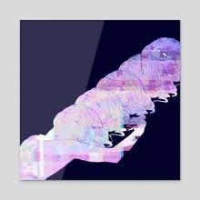 glitch - Acrylic by teacosi