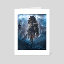 Aquaman - Art Card by Athul  M
