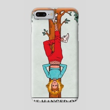 The Hanged One - Modern Witch Tarot - Phone Case by Lisa Sterle
