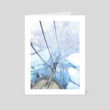 Arctic Seas V - Art Card by Kristina Gehrmann