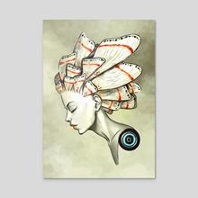 Moth 2 - Acrylic by Indré Bankauskaité