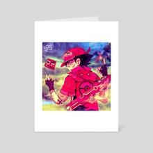 Neo Ash (02) - Art Card by Cloudsamu