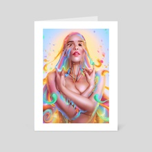 Creative Force - Art Card by Sandra Winther