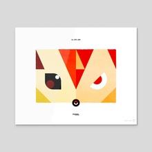 PKMNML #077-078 Ponyta - Rapidash - Acrylic by Matt Vee
