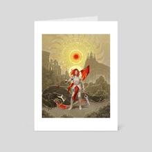 Soldier of Light - Art Card by Priscilla Kim