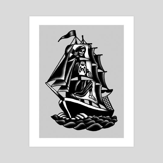 Ship by Máté Molnár