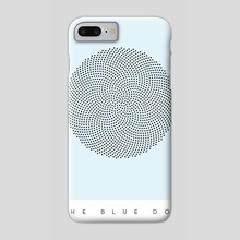 The Blue Dot - Phone Case by Paul Rice