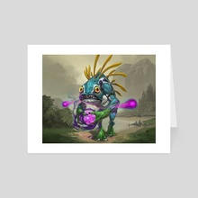 Murloc - Art Card by Jaemin Kim